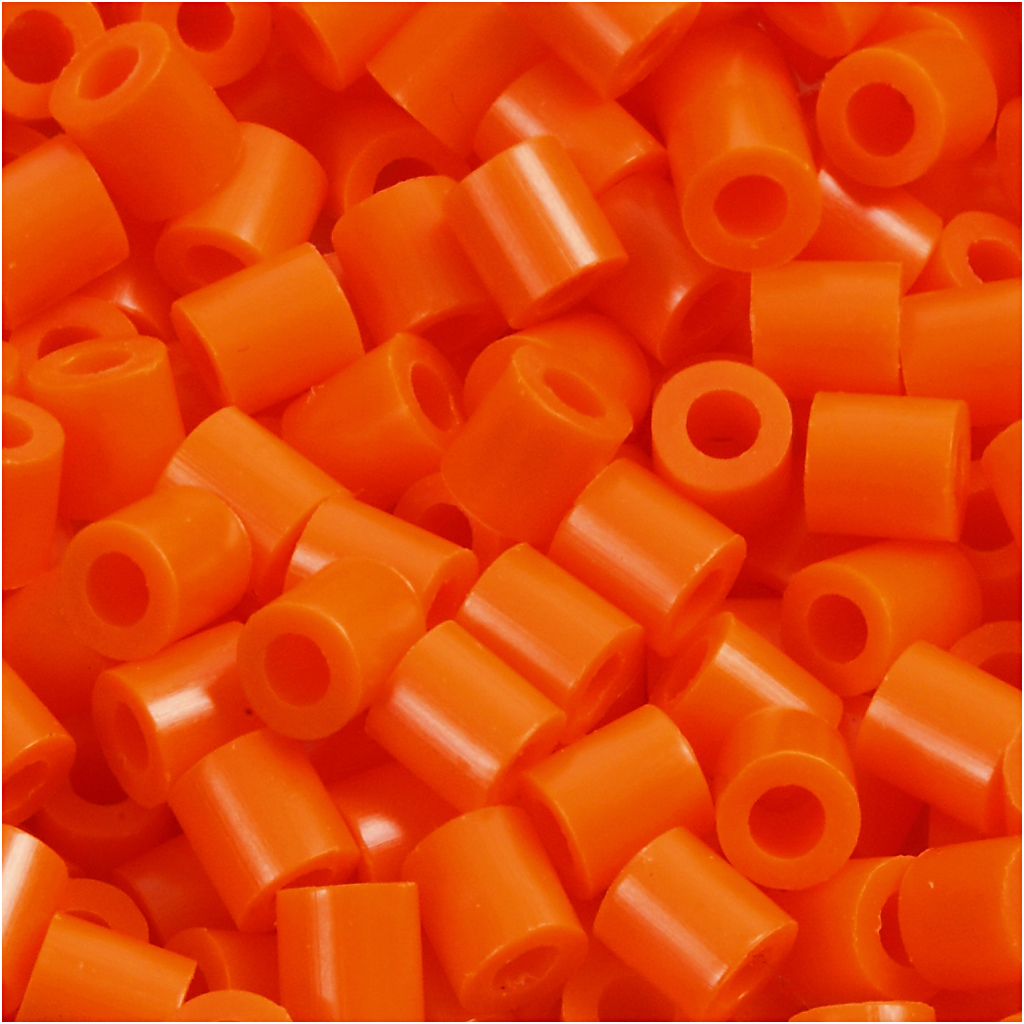 Nabbi - Midi-Pärlor 1100st (13) orange klar