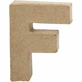 Bokstav, H: 10 cm, F, 1 st.