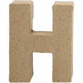 Bokstav, H: 10 cm, H, 1 st.