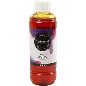 Art Aqua Pigment, gul, 250 ml