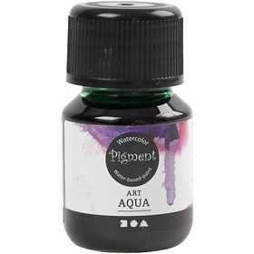Art Aqua Pigment, grön, 30 ml