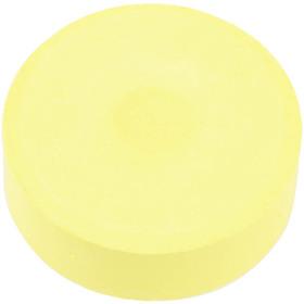 Colortime - Vattenfärger, dia. 57 mm, gul, Refill, 6 st.