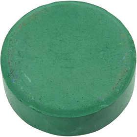 Colortime - Vattenfärger, dia. 57 mm, mörkgrön, Refill, 6 st.