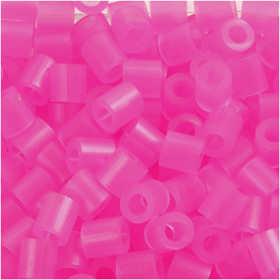 Nabbi - Midi-Pärlor 6000st (39) rosa neon