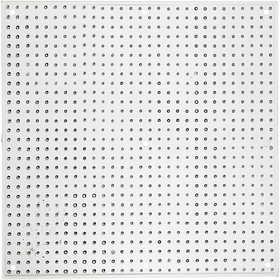 Nabbi - Pärl-plattor Kvadrat 15x15 cm transparent 10 st