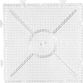 Nabbi - Pärl-platta byggbar 15x15 cm