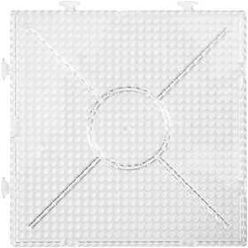 Nabbi - Pärl-plattor byggbara 2 st