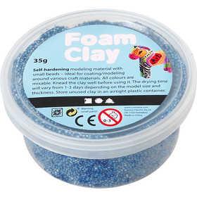 Foam Clay - Blå 35 g