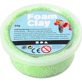 Foam Clay - Neongrön 35 g