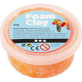 Foam Clay - Neonorange 35 g