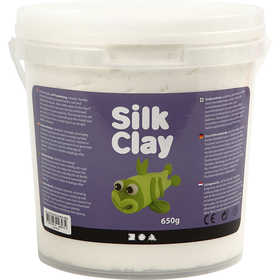 Silk Clay - Vit, 650 g