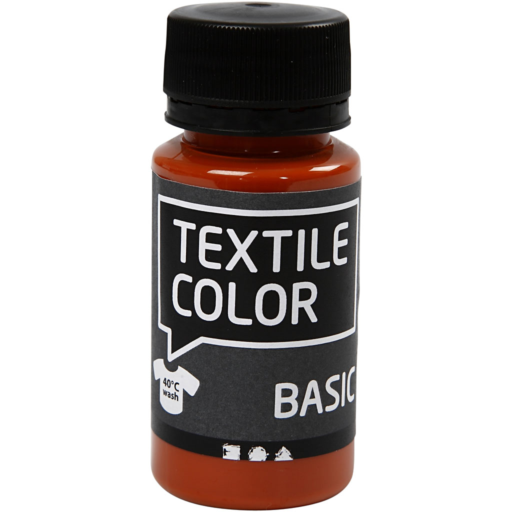Textile Color Rødbrun