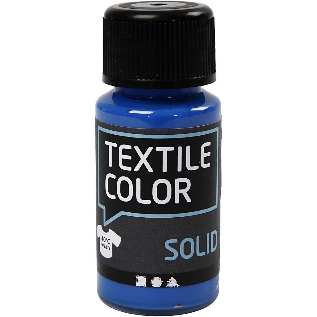 Textile Solid Kongeblå