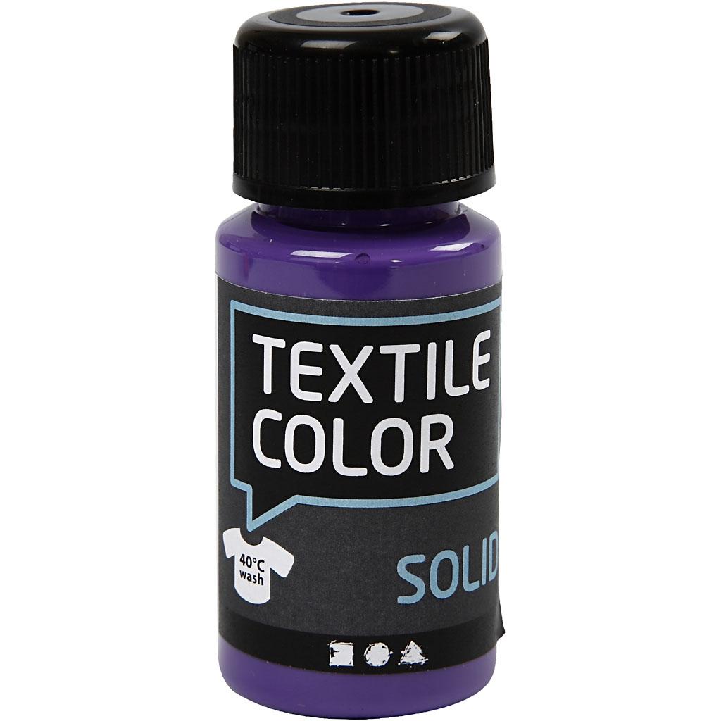 Textile Solid Lilla