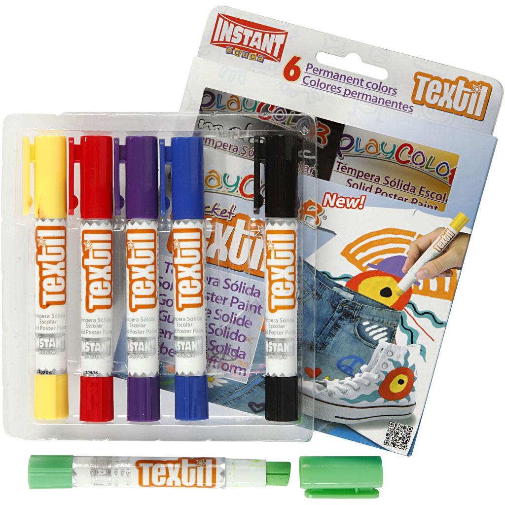 Playcolor Tekstilfarver