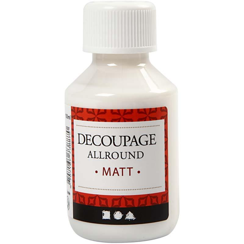 Decoupagelak, mat, 100ml