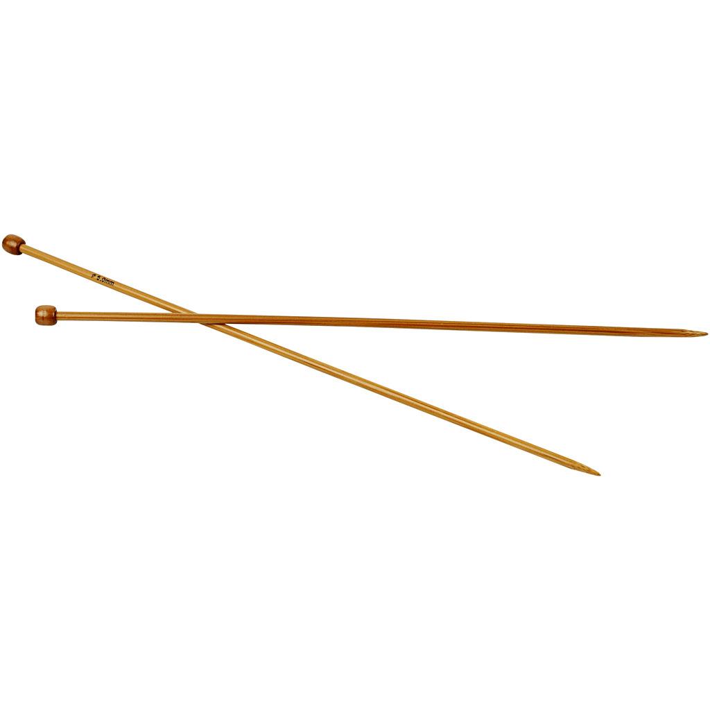 Strikkepinde, nr. 5 , L: 35 cm, 1par