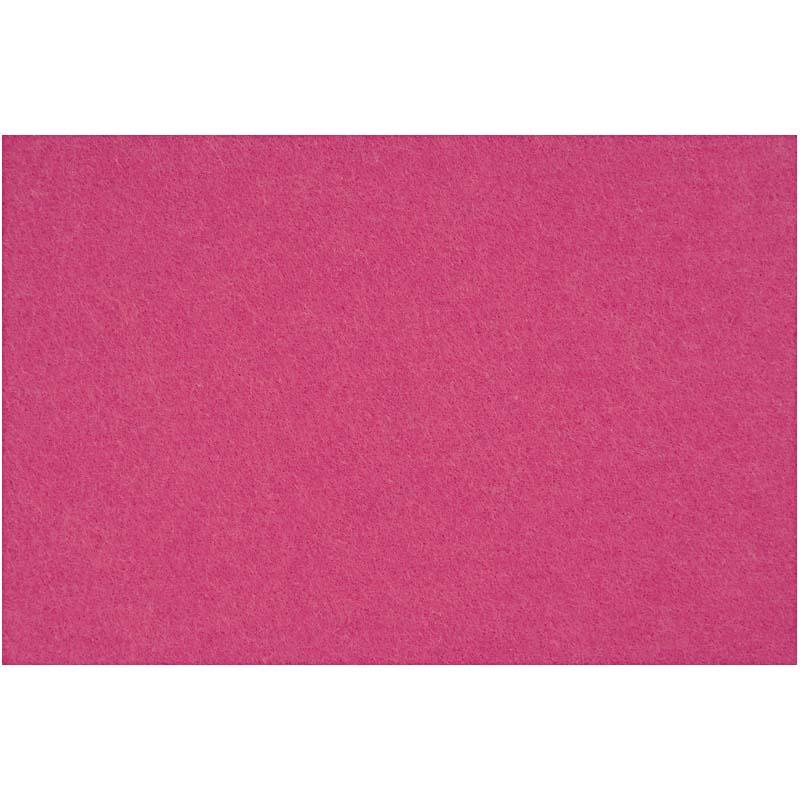Hobbyfilt, ark 42x60 cm, tykkelse 3 mm,
