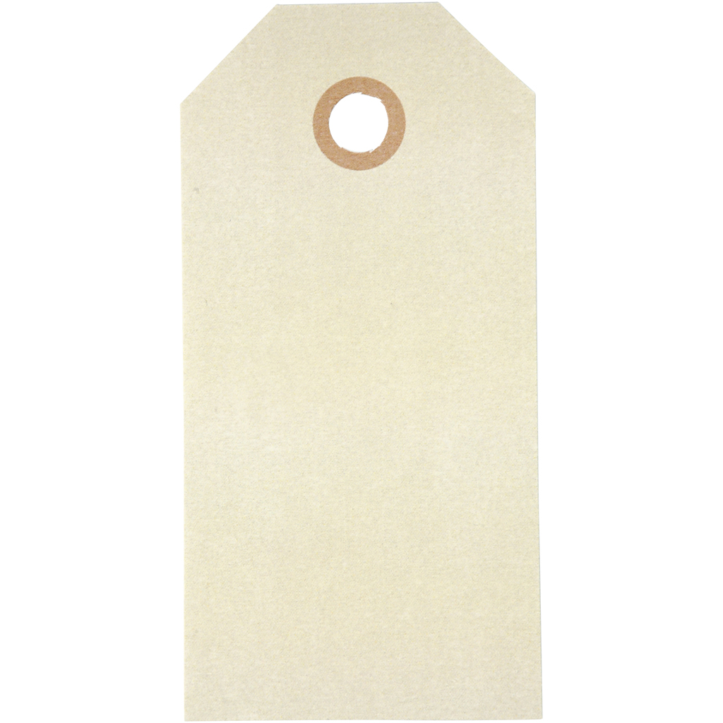 Manillamærker 5x10cm