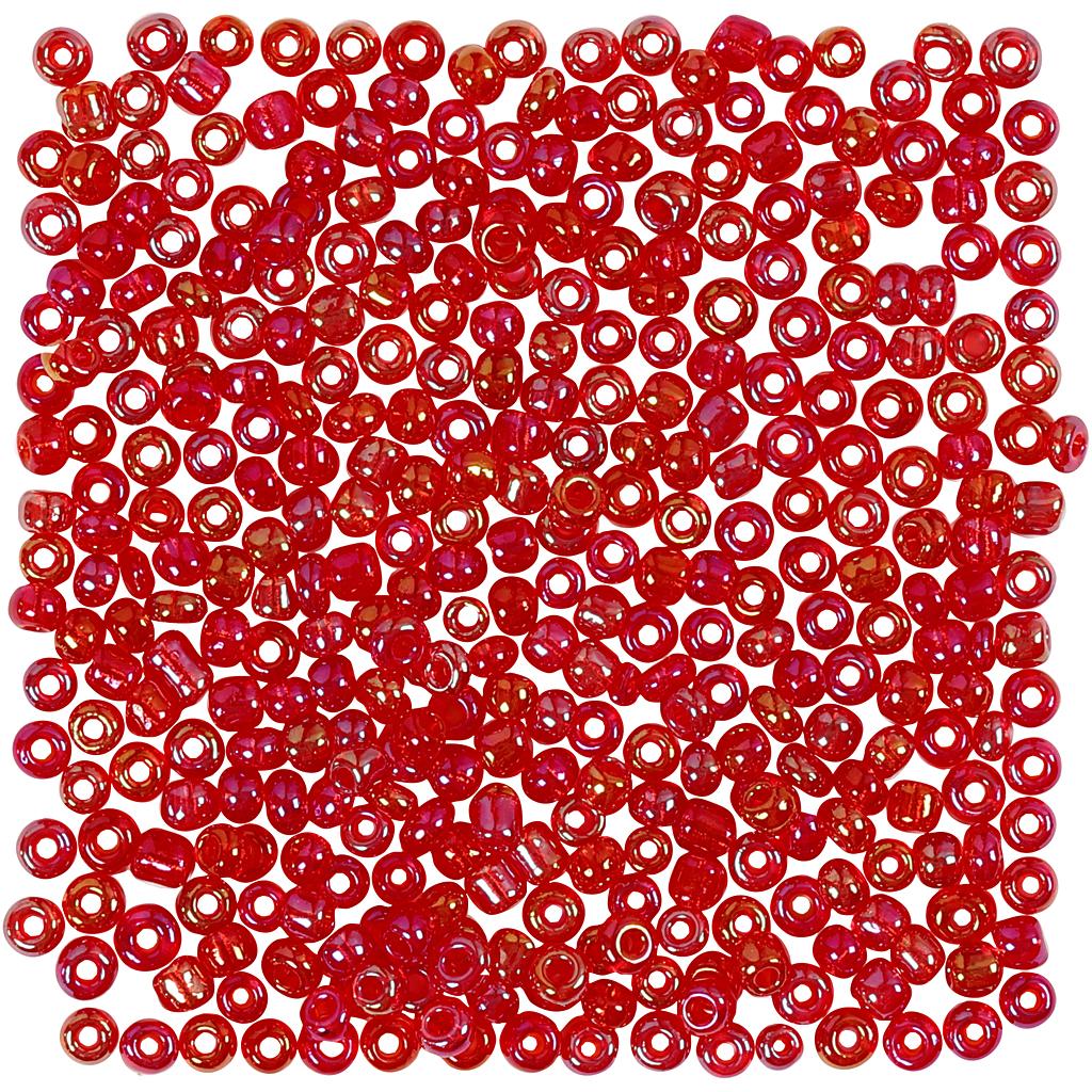 Rocaiperler, diam. 3 mm, hulstr. 0,6-1,0