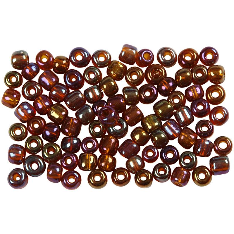 Rocaiperler, diam. 4 mm, hulstr. 0,9-1,2