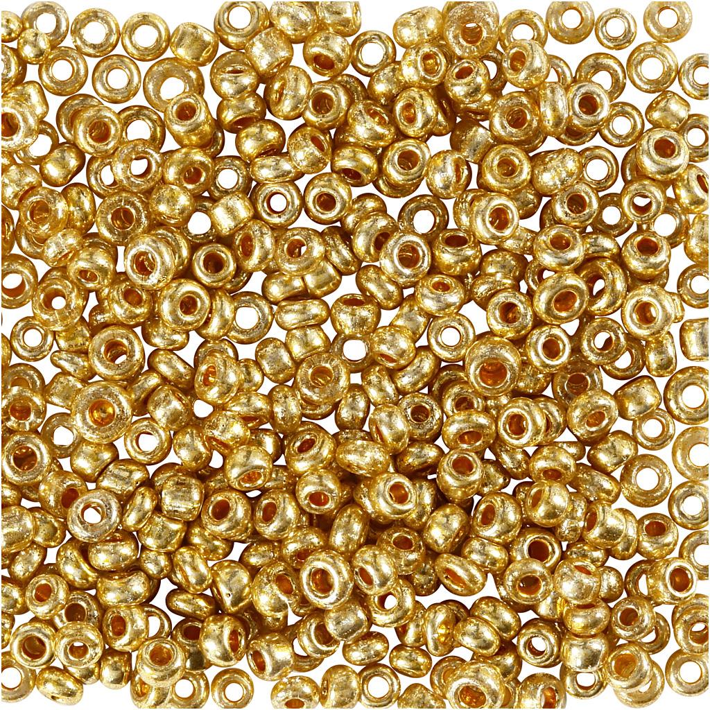 Rocaiperler, diam. 1,7 mm, hulstr. 0,5-0